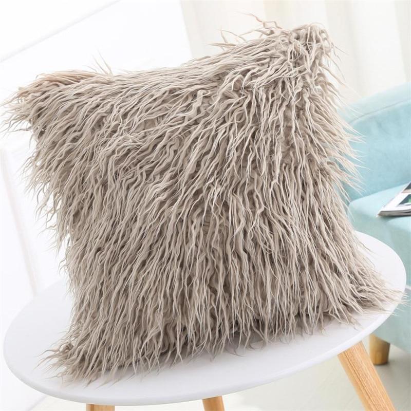 Cuscini Fashion.Sofa Decorative Cushions Plush Fashion Throw Pillow Cafe Sofa