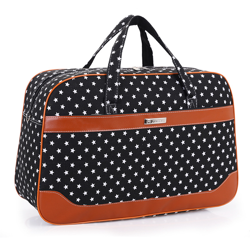 New Arrival Large Capacity Canvas Duffle Bag Hand Luggage Women Travel Bags Female Weekend Travel Bags