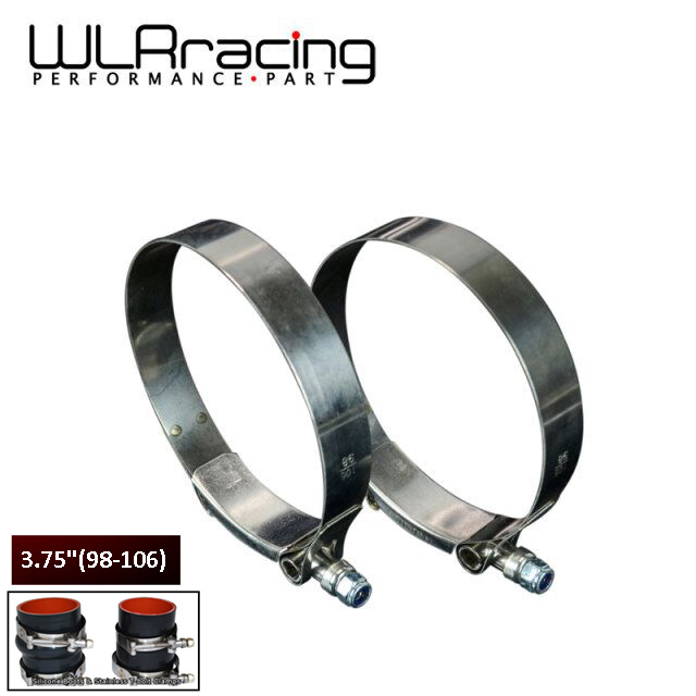 76mm 3Inch T-BOLT CLAMP SILICONE STAINLESS STEEL HOSE TURBO