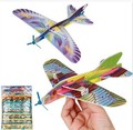 New Style Aviation Plane Model Foam Sets Mini Enlighten Toys Aircraft DIY Assembly Model Airplane For Boys Birthday Gift