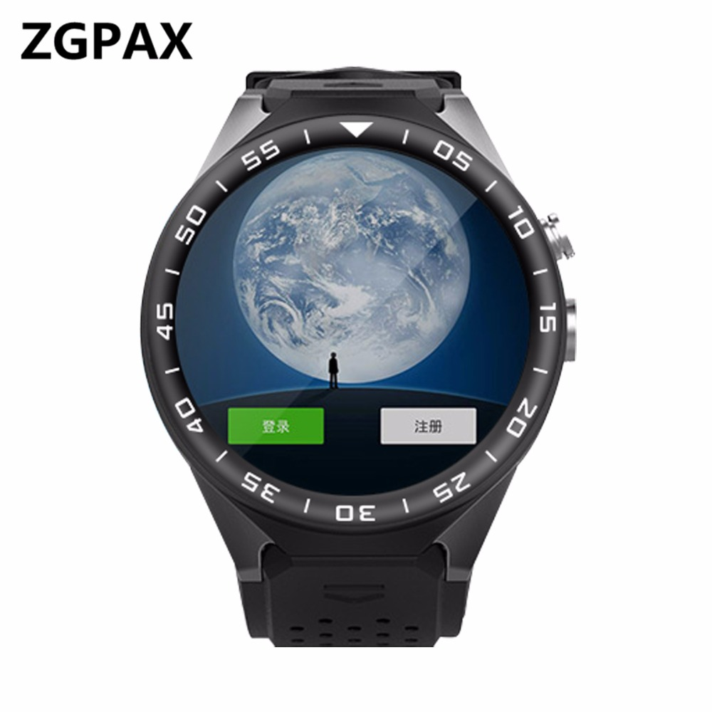 KW88C Android 5.1 OS Smart Watch Electronics Android 1.39 Inch MTK6580 SmartWatch Phone Support 3G Wifi gps Nano SIM WCDMA les2 vaglory q1 wifi gps 3g smart watch 512mb 4gb android 5 1 os mtk6580 bluetooth smartwatch support nano sim card app download