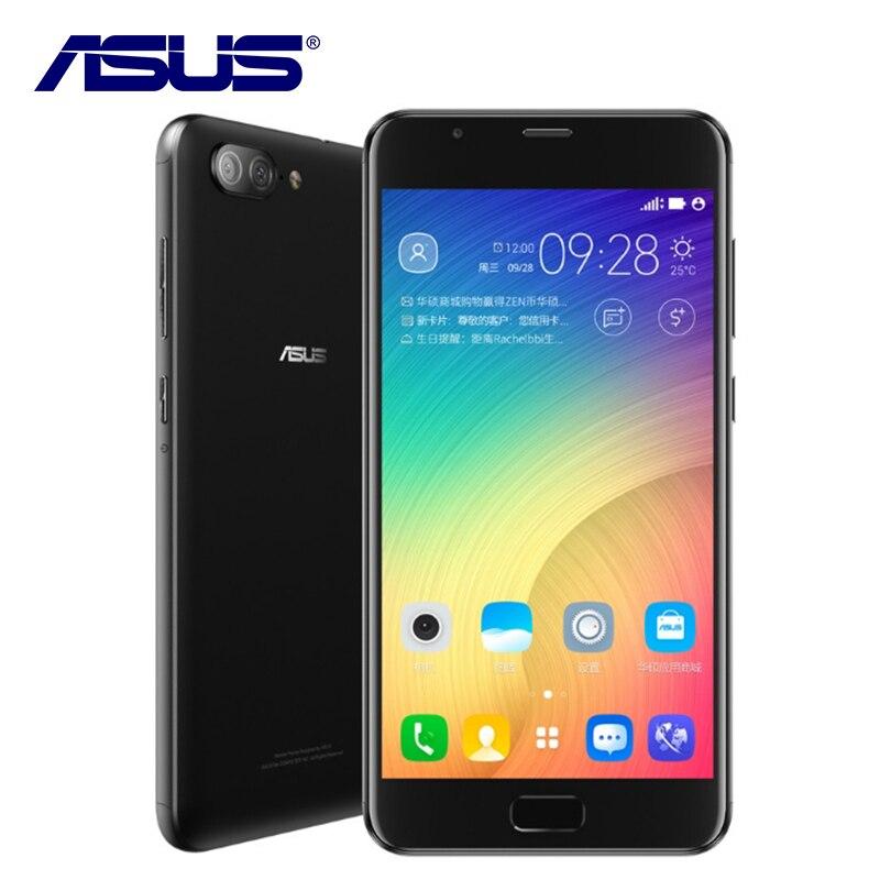 NOVO ASUS Zenfone 4 Max Plus X015D ZC550TL Octa Núcleo 5000 mAh dupla Câmeras Android 7.0 3 GB RAM 32 GB ROM 5.5 polegadas Telefone Móvel