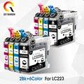 LC223 чернильный картридж LC 223 LC223XL совместимы для Brother DCP-J562DW DCP-J4120DW MFC-J480DW MFC-J680DW MFC-J880DW MFC-J4620DW