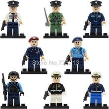 Hong Kong Macau Filme Policial SDU SWAT Police Story única venda Cidade Herói Modelo de Blocos de Construção Tijolos Brinquedos Figura Militar