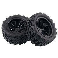 4pcs/set HSP 1/10 Monster Truck Tire Bigfoot Tire (4pcs) Diameter 115mm Hexagon combined with 12mm