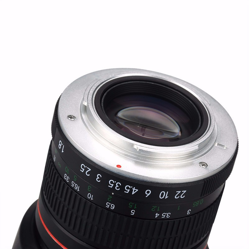 85mm F/1.8 Medium Telephoto Portrait Prime Manual Focus Camera Lens for Canon 10D 760D 700D 600D 70D 60D 7D 6D 5D II III DSLR 7