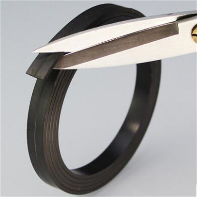 Zion 1m 5m 10 x 2mm strong magnet strip flexible magnetic strip rubber magnet tape width 10mm thickness 2mm for school home free shipping flexible magnetic strip rubber magnet width 1pcs 297x210x1mm wothout adhesive