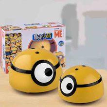 3D милый детский индукционный Электрический пульт дистанционного управления бегущий маленький желтый человек должен материться вонючие насекомые игрушки
