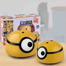 3D cute childrens induction electric remote control runaway small yellow man owes swearing stinky insect toy
