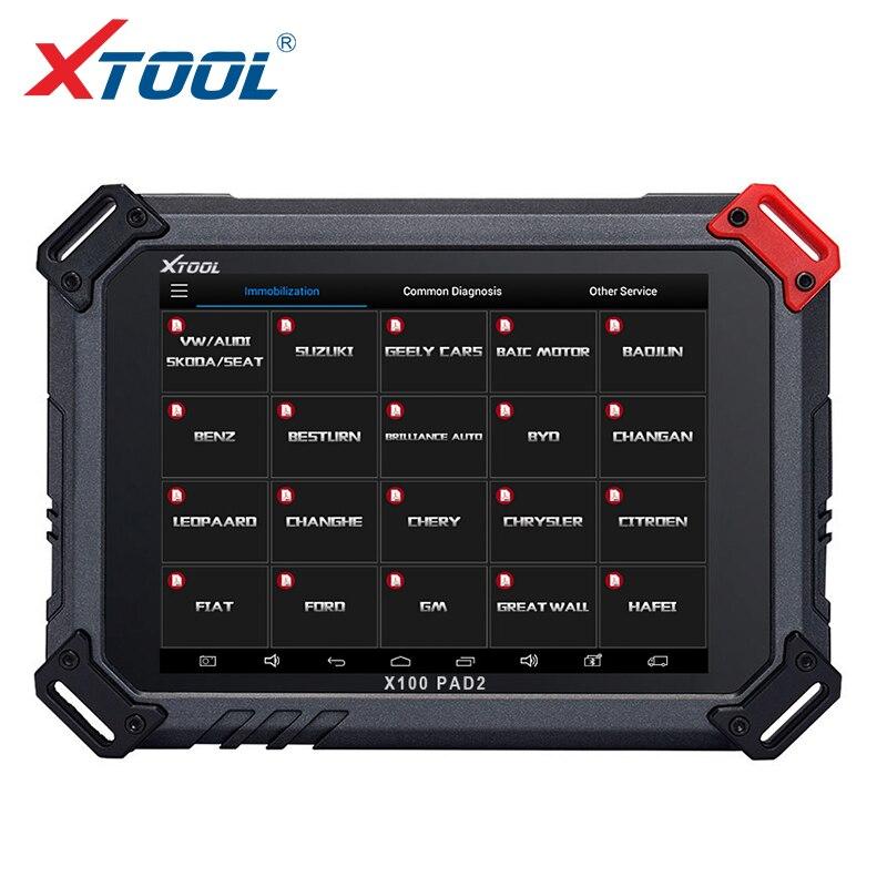 2018 XTOOL X100 PAD2 OBD2 Авто Ключевые программист Пробег Исправление Tool читатель кода автомобиль инструмента диагностики с специальные Функция