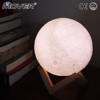 Moon Lamp 20cm 22cm 24cm Colorful Change Touch USB Led Night Light Home Decor Creative Gift