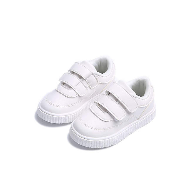 2019 New Child Casual Shoes Leather PU Boys Girls Soft Outsole Shoes Baby Sport Shoes Children Toddler Shoes Brand Kids Sneakers