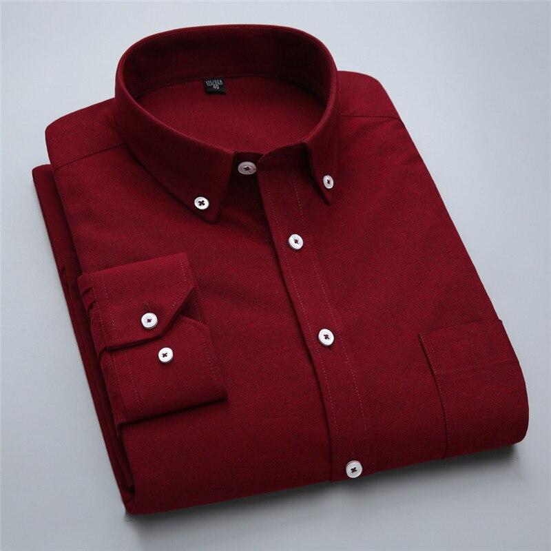 Новий бренд модні сорочки з довгим - Чоловічий одяг - фото 3