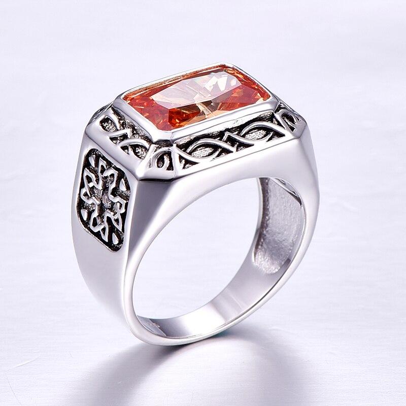 Vintage Sterling Silver Ring for Men 3