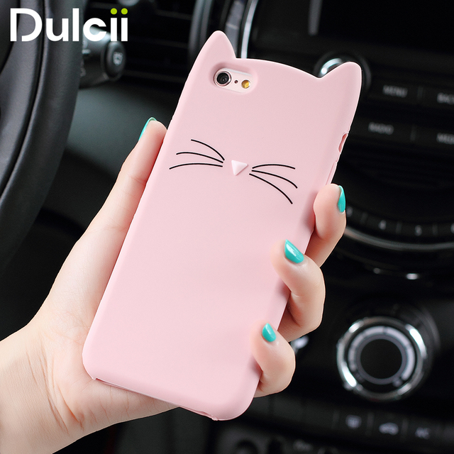coque silicone chat iphone 6