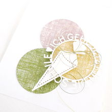 Circle ABC Alphabet Cutting Dies Handicraft DIY Card Album Making Stencil Scrapbooking Template Decoration Die Cut 2019