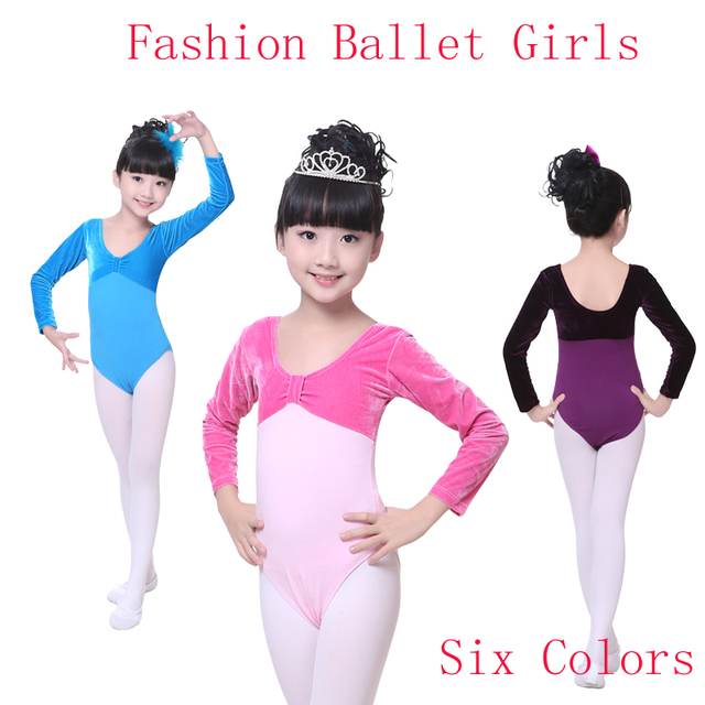 New Arrival Pink Six Colors Velvet Cotton Gymnastics Leotard Girls Toddler Long Sleeve Gymnastic Leotard For  sc 1 st  AliExpress.com & New Arrival Pink Six Colors Velvet Cotton Gymnastics Leotard Girls ...