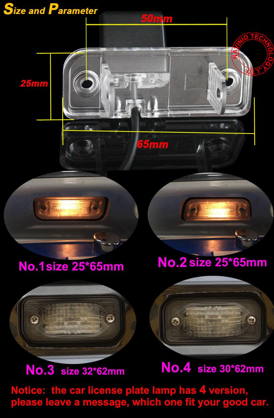 для ПЗС Мерседес Бенц с класс W203 Е-класса класса W211 и CLS w219 300 автомобиля обратный камера заднего вида назад до