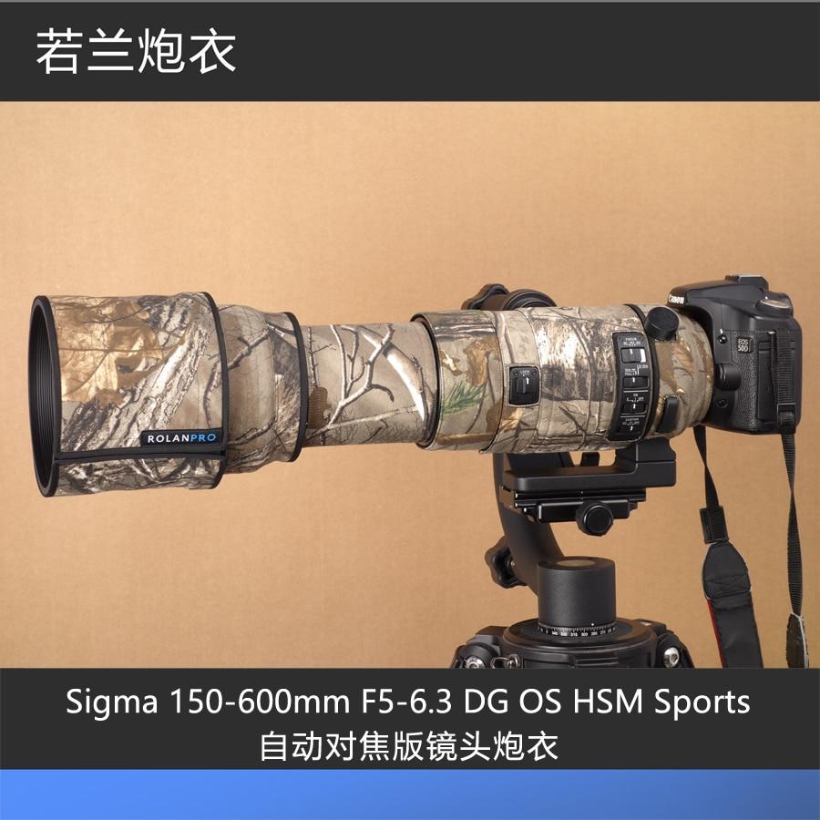 Sigma 150 500 mm LEAF Diseño Impermeable Cámara Y Lente Cubierta de la lluvia