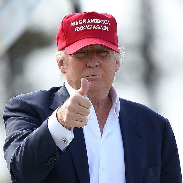 MAKE AMERICA GREAT AGAIN Print Trucker Caps Donald Trump Men Women High  Quality Flat Bill Snapback Hats caps 7db26258129