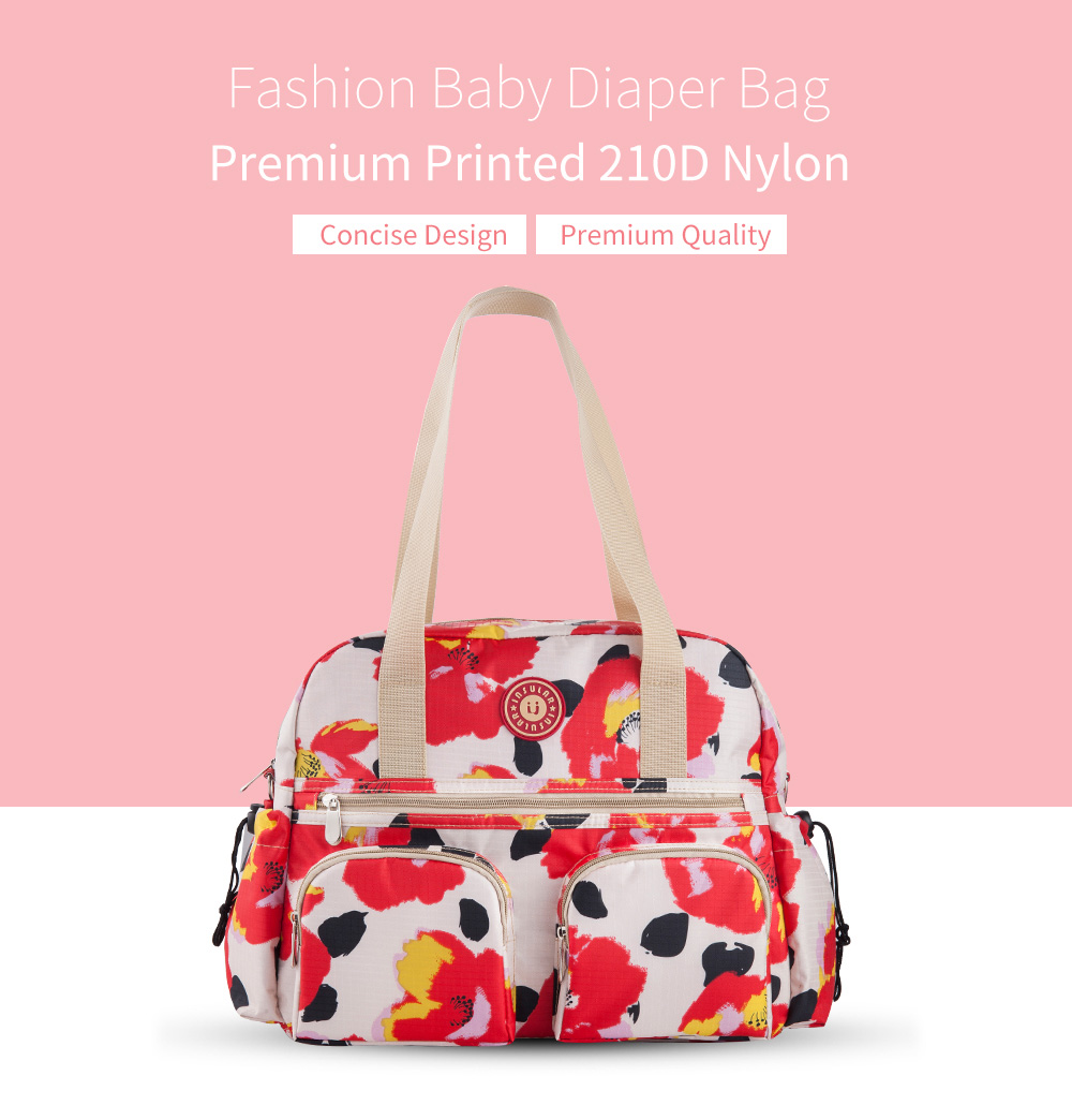 Couches, Changes Île Neuf Baby Couche-culotte Sac Mode Momie Couches Culottes Maternité Sac Large