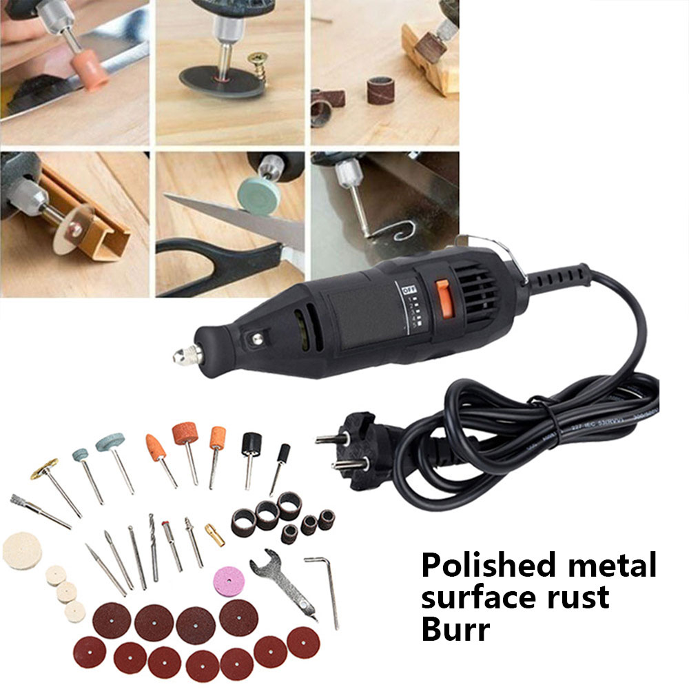 40pcs Electric Suit Grinding Tool Set Carpenter Durable Tool Kits Plastic Grinding Wheel Tool Sturdy