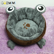 Warm Fleece Dog Bed Round Pet Lounger Cushion For Small Medium Large Dogs & Cat Winter Dog Kennel Puppy Mat Pet Bed new winter warm dog round bed soft fleece kennel for puppy pet top quality lounger cushion for small medium large dogs