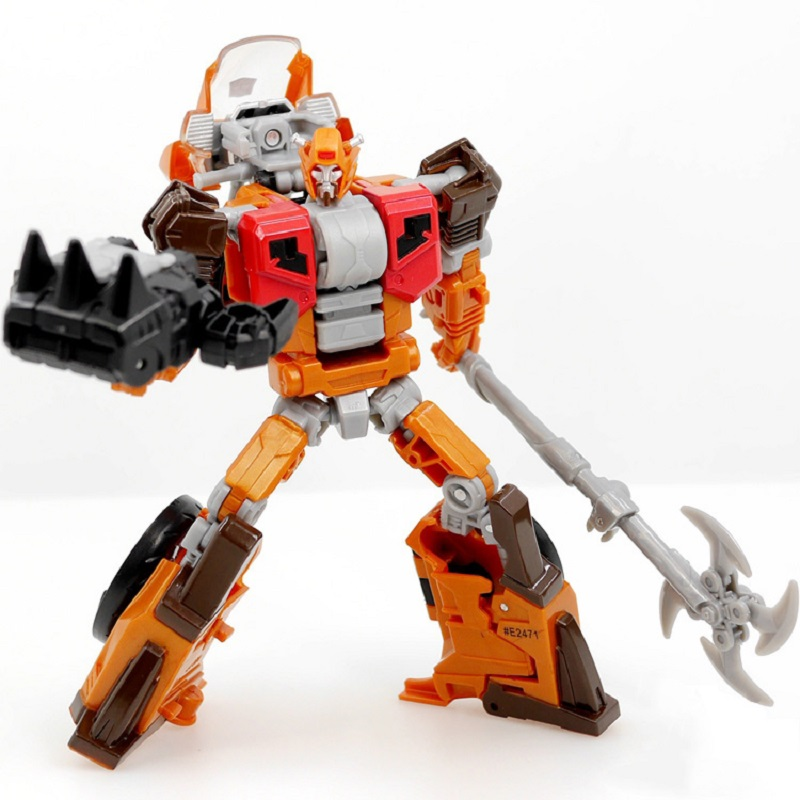 Power of the Primes Wreck Gar Motorcycle Robot Action Figure Classic Toys For Boys Children