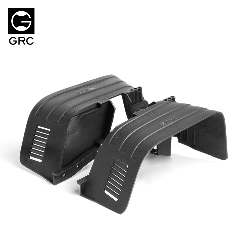 1/10 RC Crawler Car Front & Rear Mud Flaps Fender for Axial SCX10 90046 90047Parts & Accessories   -