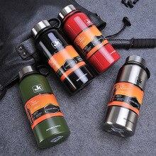 Hohe Qualität Doppelwandige 304 Edelstahl Wasser saugnapf Flasche Sportmode Trink Flasche weihnachtsgeschenk
