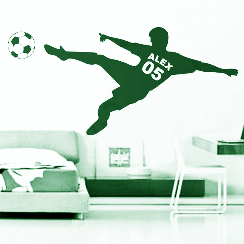 Popular Number Wall DecalsBuy Cheap Number Wall Decals Lots From - Custom vinyl wall decal equipment