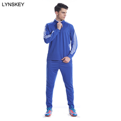 LYNSKEY Sportswear Soccer Tracksuit adults Football Kits Soccer Jerseys Sets Running Training Suit