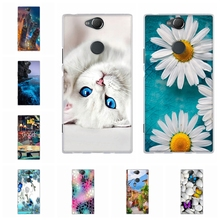 For Sony Xperia XA2 Plus Case Soft TPU Silicone Cover Trees Patterned Funda Shell