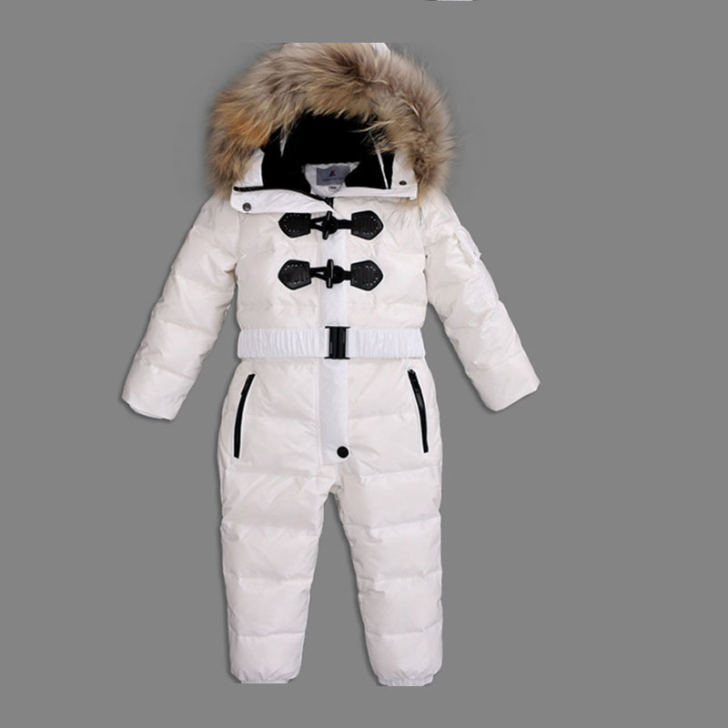 Mioigee Baby Snowsuit 2017 Winter Warm Baby Boys Rompers Overalls for Baby Girls Newborn Clothes Parka Thicken Baby Romper cotton baby rompers set newborn clothes baby clothing boys girls cartoon jumpsuits long sleeve overalls coveralls autumn winter