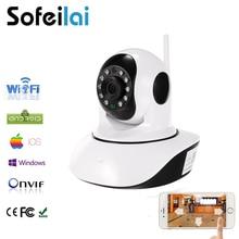 1080 P Pan Tilt Беспроводная Ip-камера Wi-Fi 720 P HD CCTV камара Дома P2P Видеонаблюдения Двусторонней Аудио SD Карты Yoosee камеры
