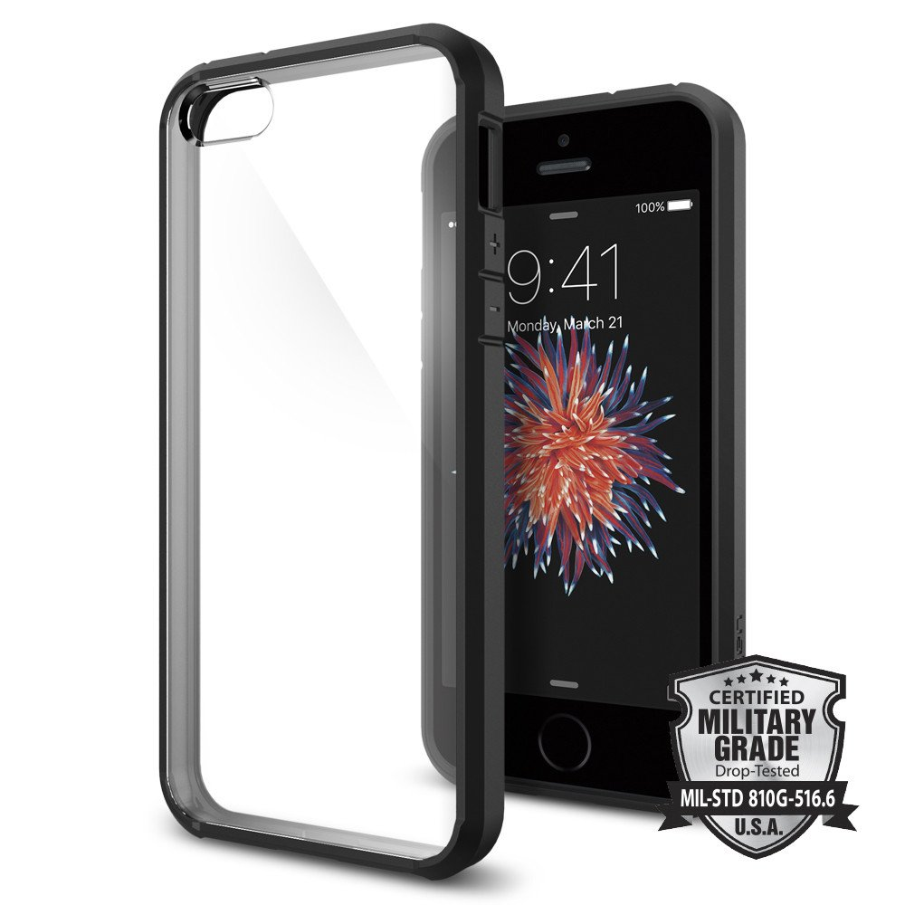 huge discount 190ea 434cb US $19.99 |100% Original SPIGEN Ultra Hybrid Case for iPhone SE / 5S / 5-in  Fitted Cases from Cellphones & Telecommunications on Aliexpress.com | ...