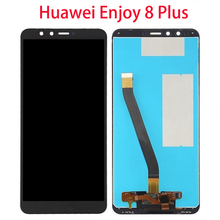 For Huawei Enjoy 8 Plus Y9 2018 LCD Display Touch Screen Assembly Replacement FLA-L22 LX1 FLA-LX2 FLA-AL00 FLA-LA10 5.93 OEM