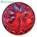 Joyería de Acrílico Más Nuevo Estilo de Arce Broche Botón Rivca Botón Snap Pulseras Para Las Mujeres de Europa Perlas de Navidad Regalos D03105