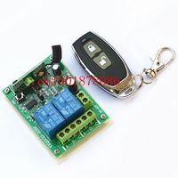 DC12V 24 V 2CH Đài Phát Thanh Điều Khiển RF Wireless Rơ Le Điều Khiển Từ Xa Chuyển 315 MHZ 433 MHZ Transmitter Receiver Mới