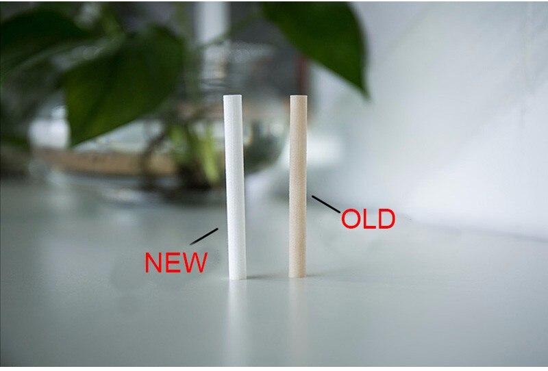 12 шт. 8 мм * 130 мм Фильтры увлажнителей ватный тампон для USB воздуха ультразвуковой увлажнитель Арома диффузор заменить Запчасти можно
