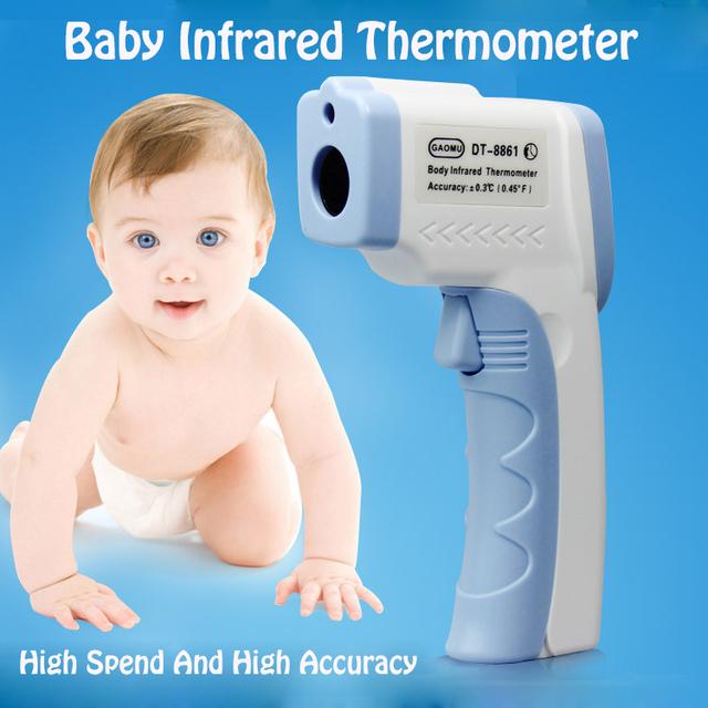 Bebé termómetro de frente Infrarrojo digital Sin contacto de la frente termómetro para niños Cuerpo pistola de temperatura termometro bebe