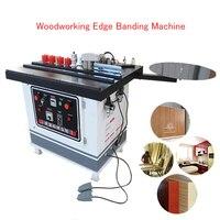 בנדר מכונה Banding קצה נייד לעיבוד עץ מכונה Banding קצה לרהיטי עץ עקומה וקו ישר