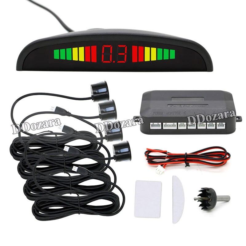 2 цвета Мониторы Системы парковка Сенсор автомобилей Обратный ультразвуковой Антирадары Системы автомобиля обратный помощи оборудования