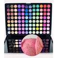 2016 Nueva Belleza Sombra de Ojos Maquillaje Paleta Caliente Pro 96 Full Color Shimmer Mate Sombra de ojos Maquillaje Cosmético del kit del Sistema