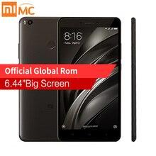 Оригинал Сяо Mi Max 2 Max2 6.44 «мобильный телефон 4 ГБ Оперативная память 64 ГБ Snapdragon 625 Octa core 1080 P 4 К Камера 12.0MP 5300 мАч Батарея