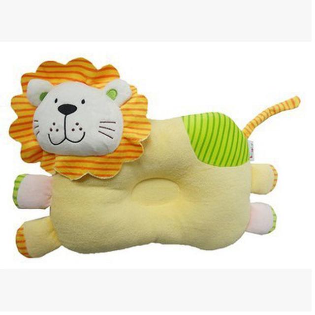 1 Peça Confortável Encantador Da Criança Do Bebê Seguro Cotton Anti Rolo Pillow Desenhos Animados Cabeça Posicionador Sono Anti-roll Travesseiro Bebê kussen
