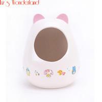 Small animal ceramic house