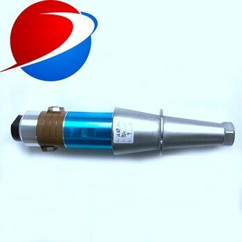 Ультразвуковой Сварочный пьезоэлектрический преобразователь 1000 Вт 15 кГц с рожком для высокомощного ультразвукового сварочного оборудова...