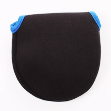2Pieces Protective Fly Fishing Reel Pouch Covers Fishing Neoprene Fly Reel Bag Fishing Accessory A021