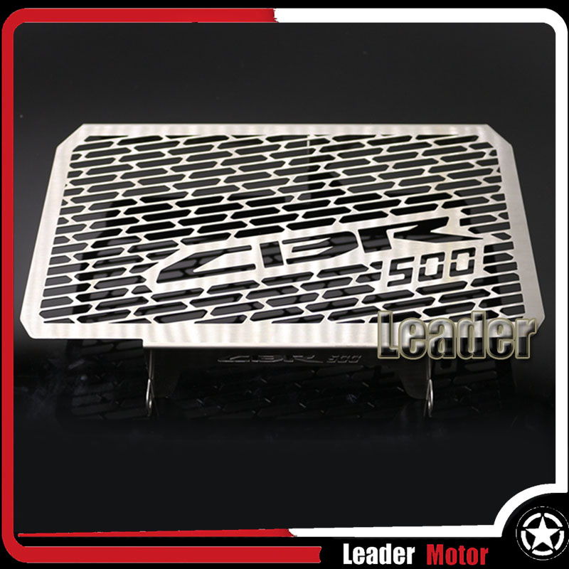 For Honda CBR500 Motorcycle Accessories Radiator Grille Guard Cover Protector arashi motorcycle radiator grille protective cover grill guard protector for 2008 2009 2010 2011 honda cbr1000rr cbr 1000 rr